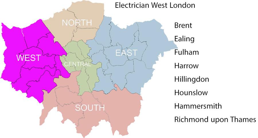 Electrician west London